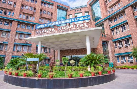 Sharda Hospital ,Greater Noida