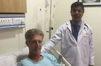 British Citizen David Heard Gets the Right Diagnosis and Treatment in India for His Heart Condition