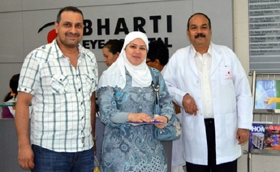 Hospitals for Cataract Implant Surgery - Bharti Eye Hospital, New Delhi