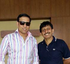 Cricketer V.V.S.Laxman with Dr. Khanna
