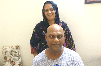 Patient story - Nasal Cavity and Paranasal Sinus Cancer Treatment