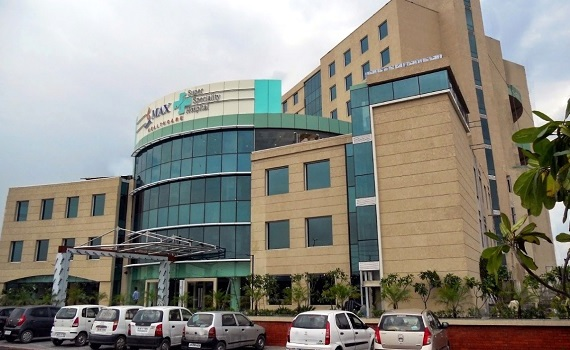 Max Super Specialty Hospital, Shalimar Bagh, New Delhi