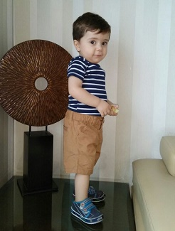 Baby Ammar Yasir, Iraq, Tetralogy of Fallot Repair in India