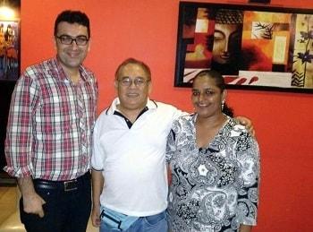 Mr Joel from Fiji with Vaidam