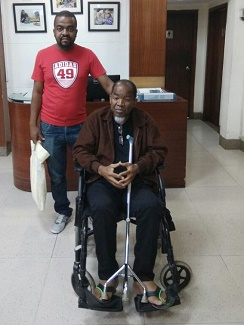 Nelson Osman, Mozambique, Total Hip Replacement in India