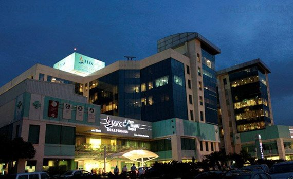 Hospitals for Leukemia - Acute Myeloid AML - Max Super Specialty Hospital, Saket, New Delhi