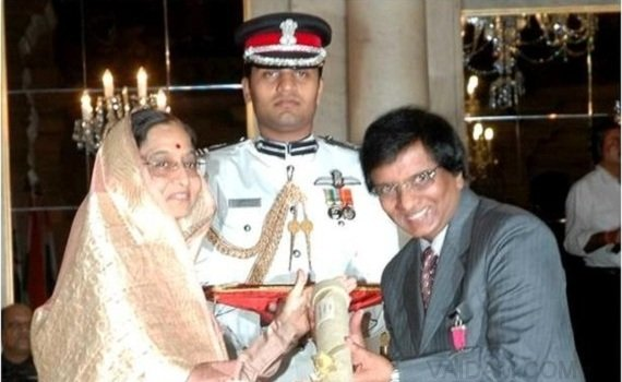 Dr. Lal Receiving the most prestigious award Padma Bhushan - 2009