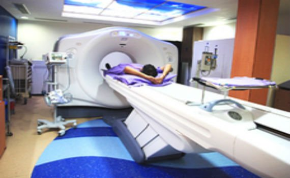CT Scan being conducted